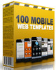 Thumbnail 100 Mobile Web Templates 2015