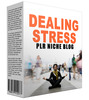Thumbnail Dealing Stress Niche Website