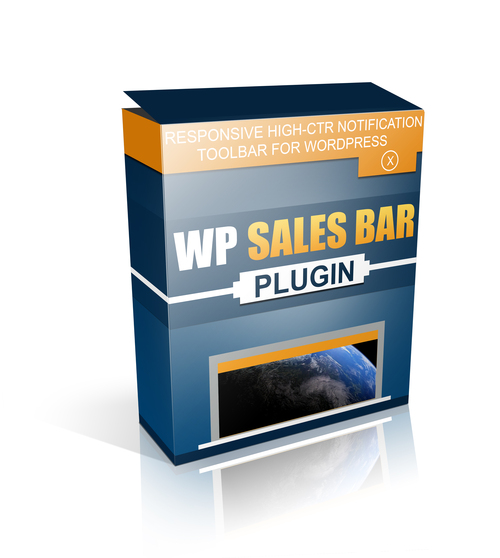 Product picture WP Sales Bar WordPress Plugin