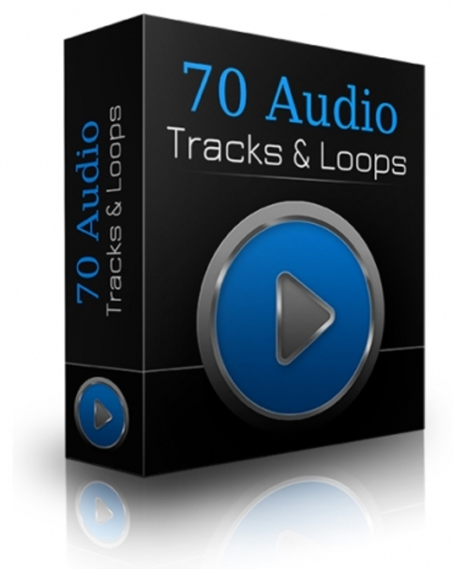 Product picture 70 Audio Tracks & Loops