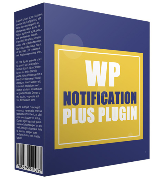Product picture Notification Plus plugin for WordPress