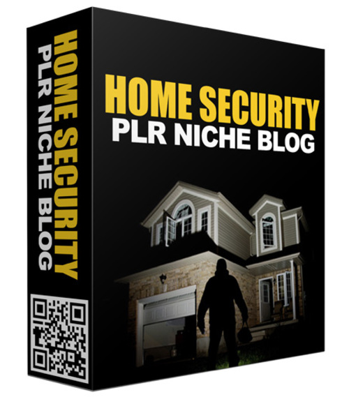 Product picture Ready Made Home Security Website