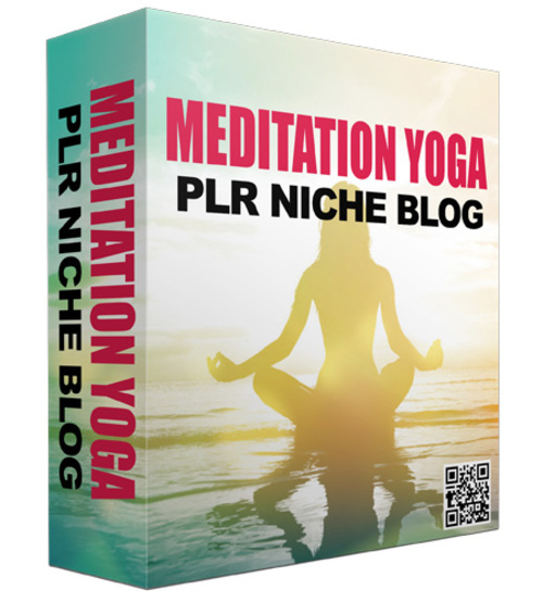 Product picture Niche Blog For Meditation And Yoga
