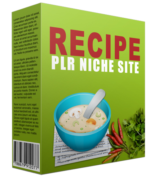 Product picture Recipe Niche Website
