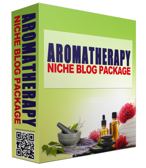 Product picture Aromatherapy Niche Website