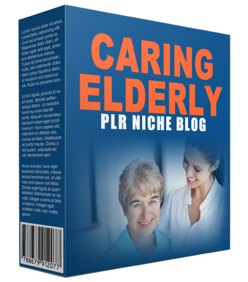 Product picture Caring Elderly Niche Website