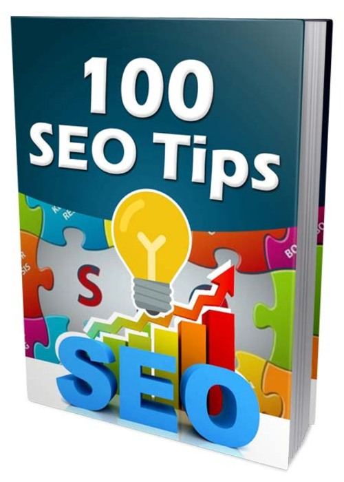 Product picture 100 SEO Tips