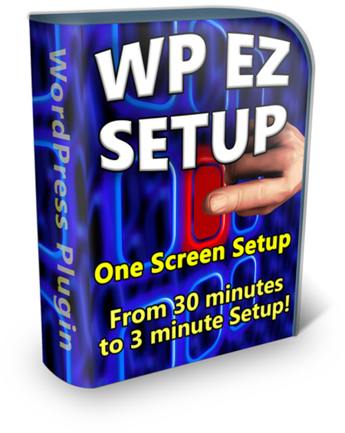 Product picture WP EZ Setup - WordPress 5 Minute Install
