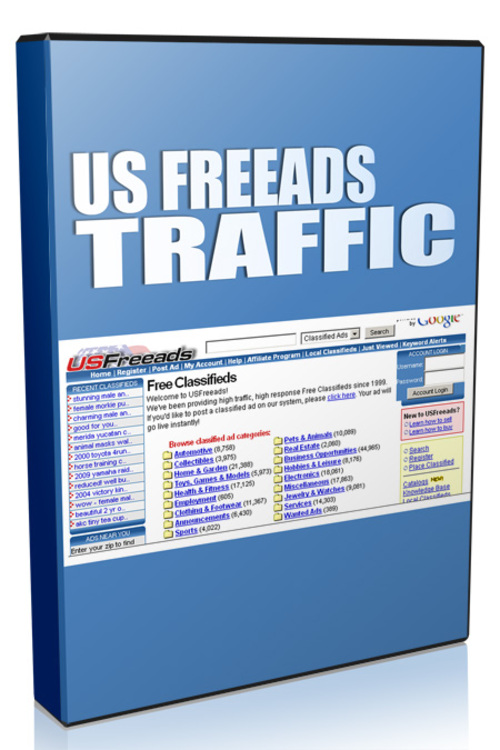 Product picture US Free Ads Traffic