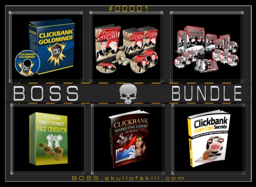 Product picture BOSS Bundle #00001 - ClickBank Bundle