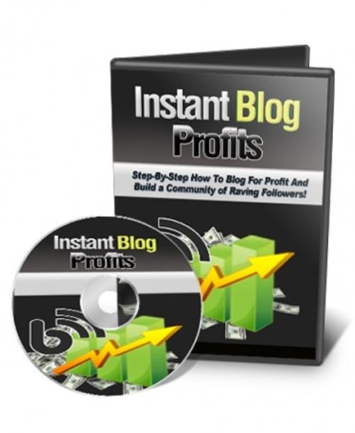 Product picture Instant Blog Profits