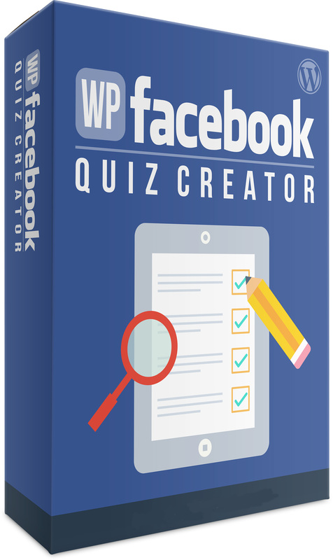 Product picture WP Facebook Quiz Creator