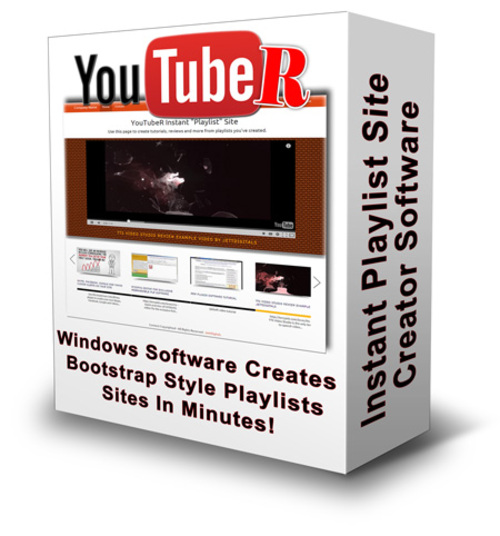 Product picture YouTube Playlist Site Creator